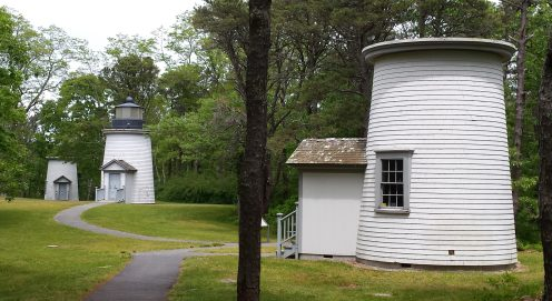 Three sisters lighthouses, Cape Cod, MA