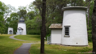 Three sisters lighthouses