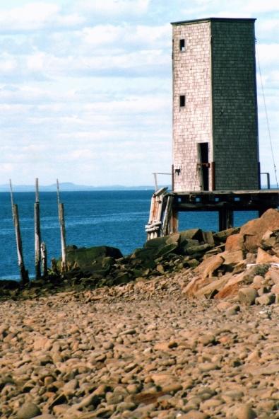 Tour d'observation, Dark Harbour, NB