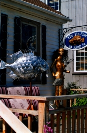 Tin fish, St-Andrew-by-the-sea, NB