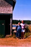 Alphie et Gabrielle, White Island, NB